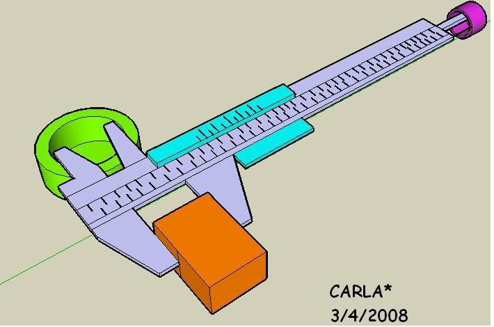 Instrumentos de medida 2. Pie de rey