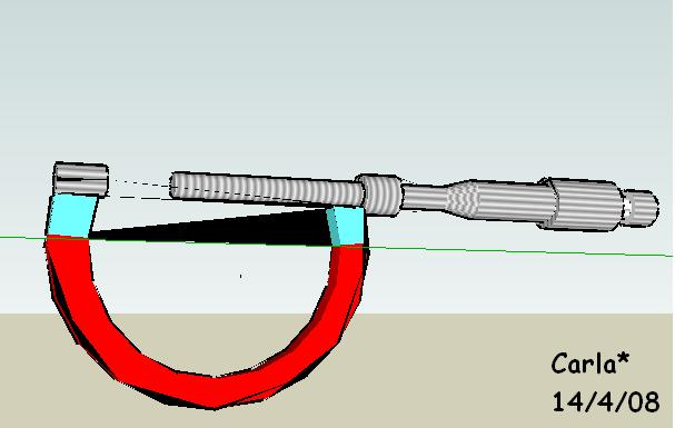 Instrumentos de medida 3. Micrómetro o palmer.